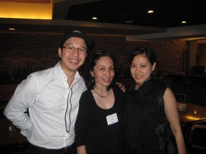 With RJ Ledesma and wife Vanessa