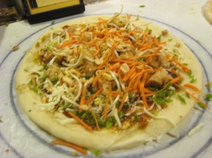 My pizza BEFORE it is cooked