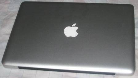 the Macbook aluminum!