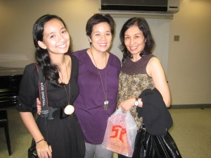 P, Cathy and me