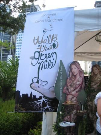 Walk a Green Mile banner