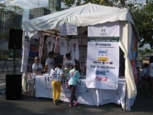 Haribon Foundation tent
