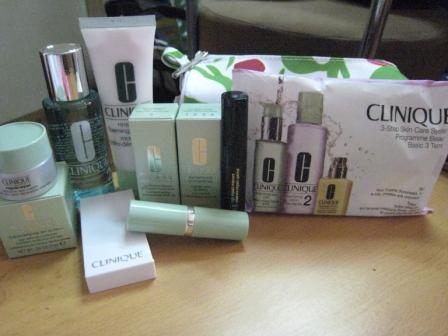 my free Clinique samples