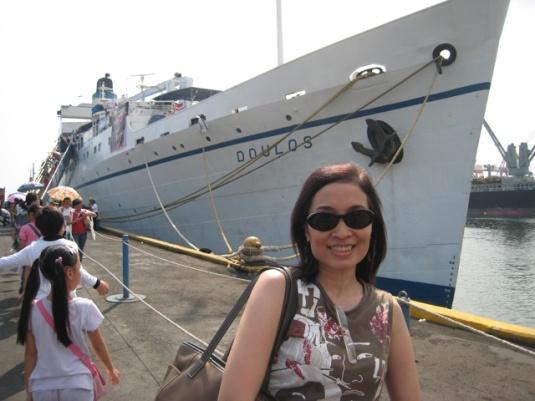 Me at MV Doulos