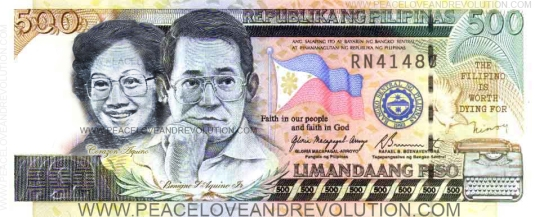 The unofficial (but very popular) proposed design of the P500 bill